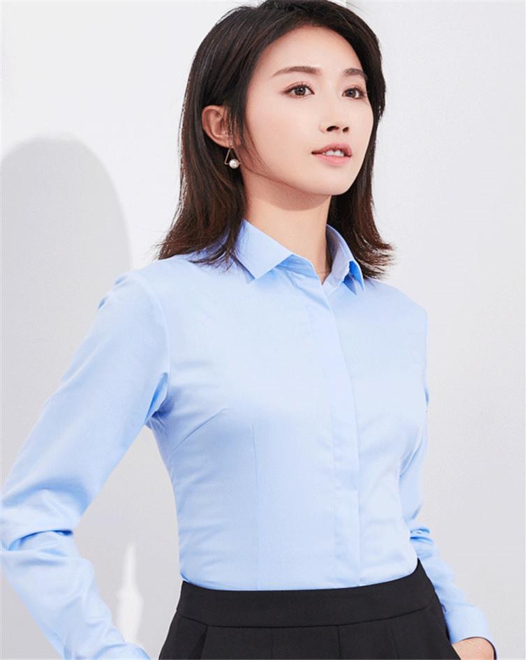 女士长袖衬衣