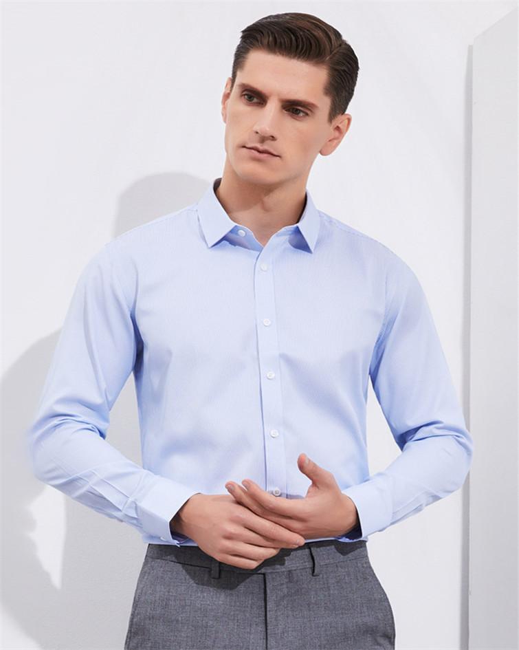 男士长袖衬衣