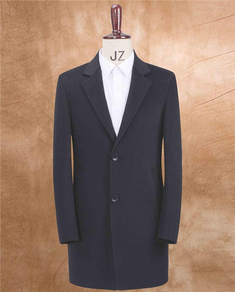 男士羊绒大衣